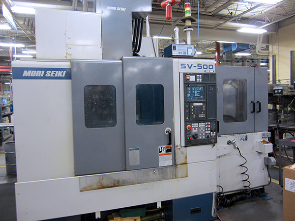 Used Vertical Machining Center Mori Seiki SV-500 1998