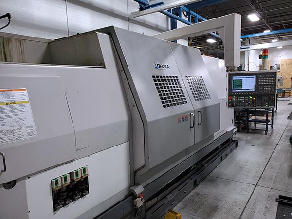 Used CNC Lathe Okuma LB-45 II 2007