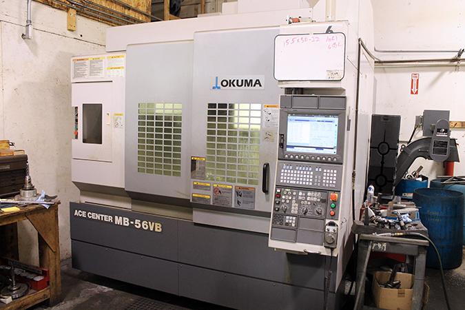 Used Vertical Machining Center Okuma MB-56VB 2008