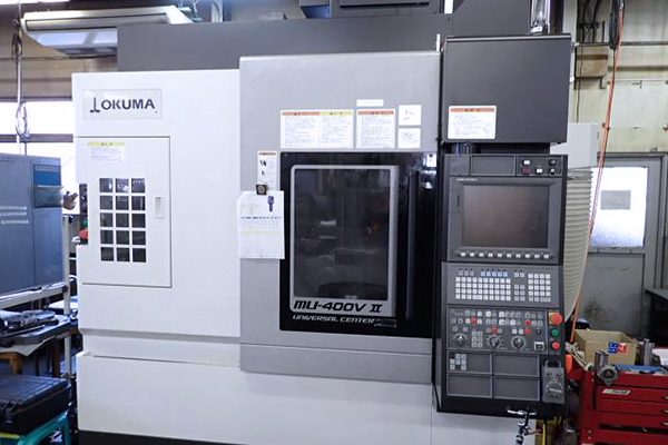 Used 5 Axis Machining Center Okuma MU-400V-II 2019