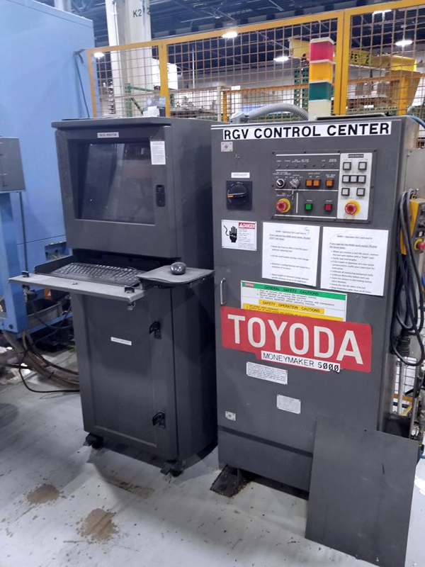 Used Horizontal Machining Center Toyoda FH630S, FH630S, 12 Pallet RGV System 2004, 2004, 2001