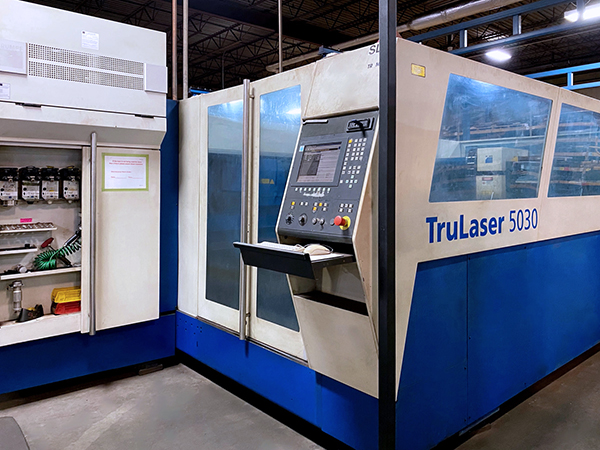 Used Laser Cutting Machine Trumpf Trulaser 5030 2008