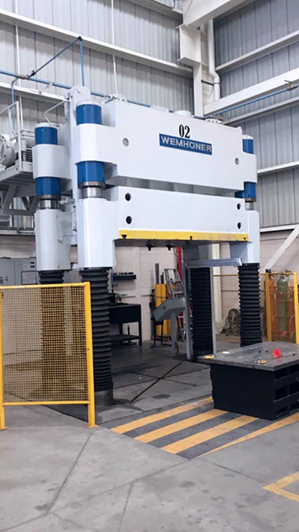 Used Hydraulic Press  Wemhoner 200