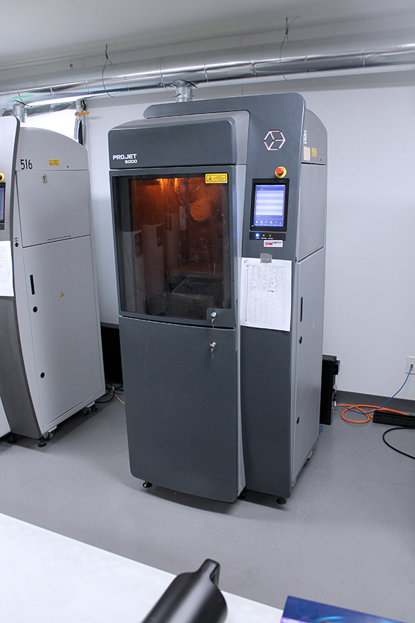 Used 3D Printer 3D Systems ProJet 6000 HD 2012