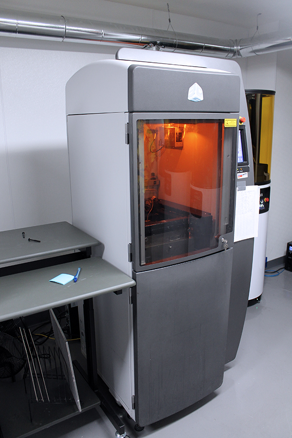 Used 3D Printer 3D Systems ProJet 6000 HD 2014