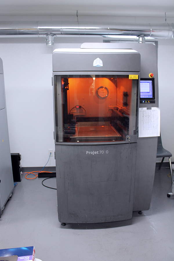 Used 3D Printer 3D Systems ProJet 7000 HD 2015