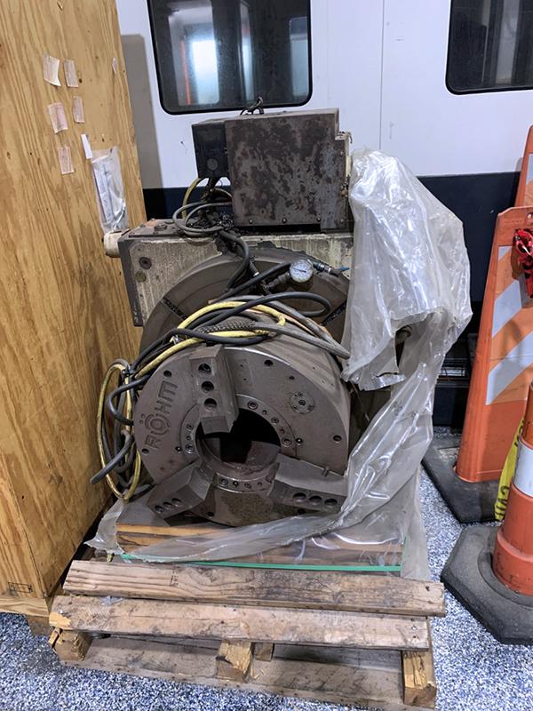 Used 5-Axis Horizontal Boring Mill Mighty Viper PBM-135A 2012