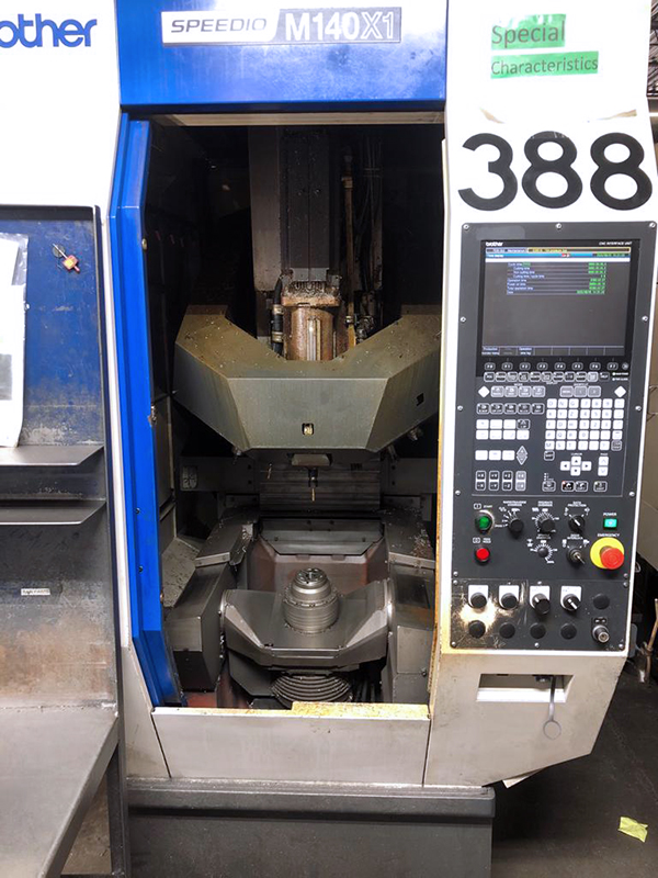 Used 5 Axis Machining Center Brother Speedio M140 X1 2014