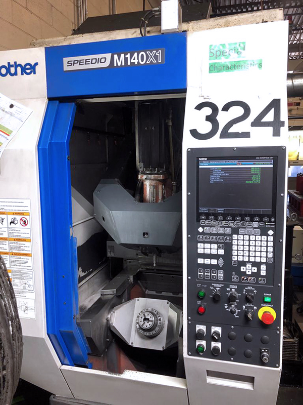 Used 5 Axis Machining Center Brother Speedio M140 X1 2015