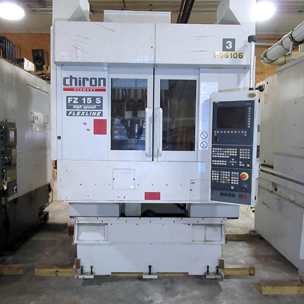 Used 5 Axis Machining Center Chiron FZ15S 5-AX 2005