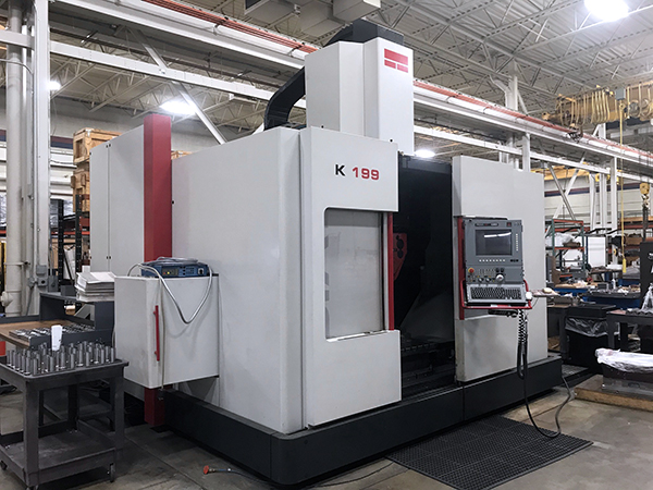 Used 5 Axis Machining Center Fidia K-199 2003