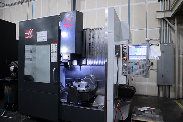 Used 5 Axis Machining Center Haas UMC-750 2017