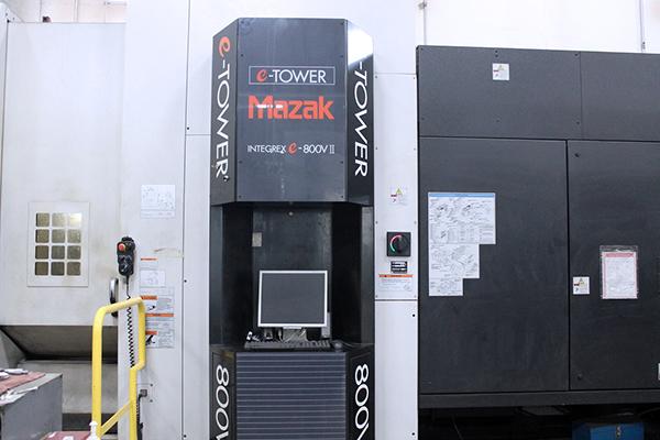 Used 5 Axis Machining Center Mazak Integrex e800V/5II 2007