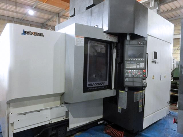 Used 5 Axis Machining Center Okuma MU-5000V 2014