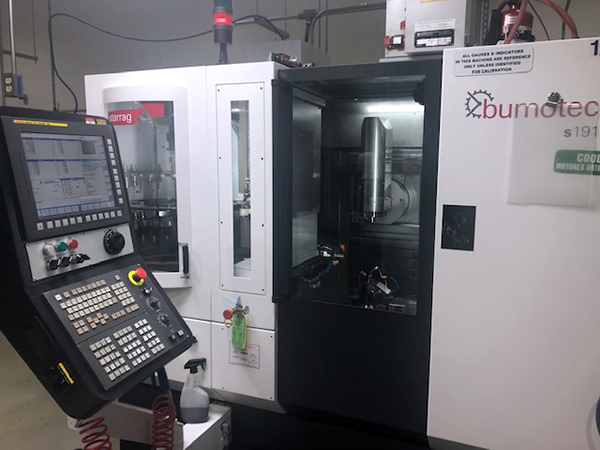 Used 5 Axis Machining Center Starrag Bumotec S191 2018