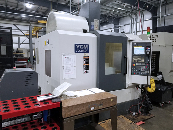 Used 5 Axis Machining Center YCM FX380A 2013