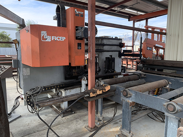 Used Beam Punch Line Ficep 1101 DZ 2005