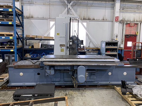 Used CNC Jig Bore Devlieg Spiramatic 3B-96 2014 Refurbished