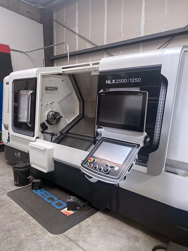 Used CNC Lathe DMG Mori NLX 2500/1250SY 2016