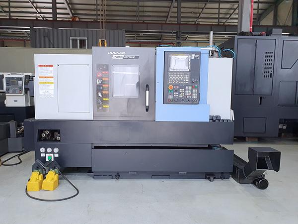 Used CNC Lathe Doosan GT2100M 2017