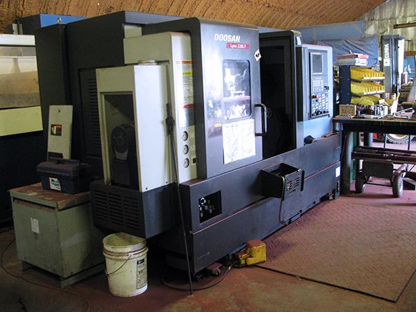 Used CNC Lathe Doosan Lynx 220LYC 2014