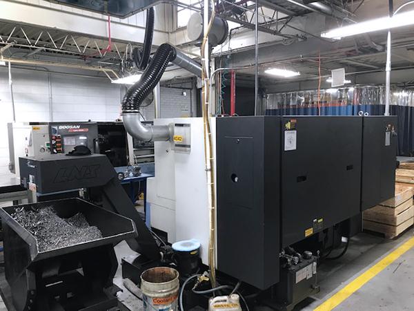 Used CNC Lathe Doosan Lynx 300M 2015