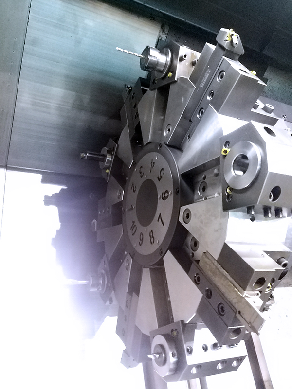 Used CNC Lathe Doosan Puma-4100LB 2016
