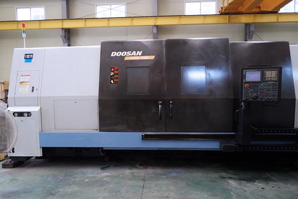 Used CNC Lathe Doosan Puma 600L 2008