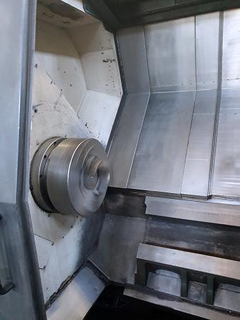 Used CNC Lathe Doosan Puma 600L 2007