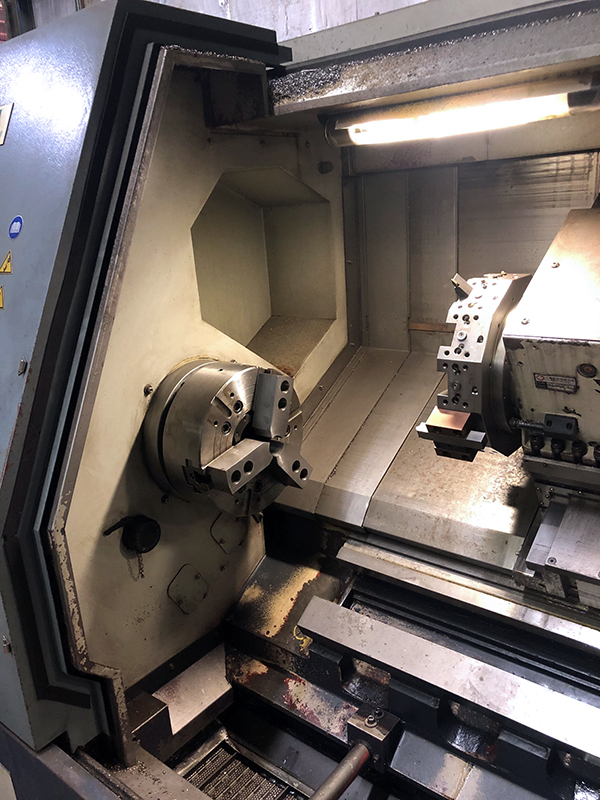 Used CNC Lathe Ecoca MT-415 2008