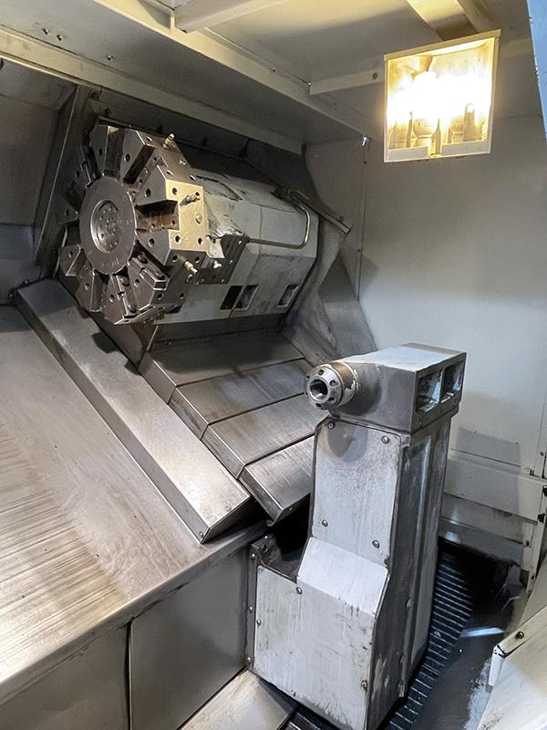 Used CNC Lathe Haas SL-40TB 2008