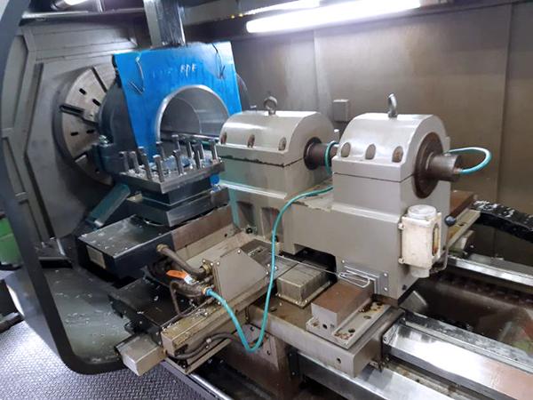 Used CNC Lathe Hwacheon MEGA 100x5000 2014