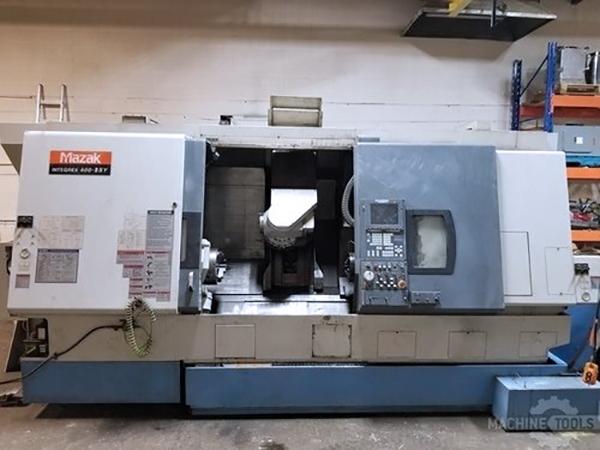 Used CNC Lathe Mazak Integrex 400-IISY 2002