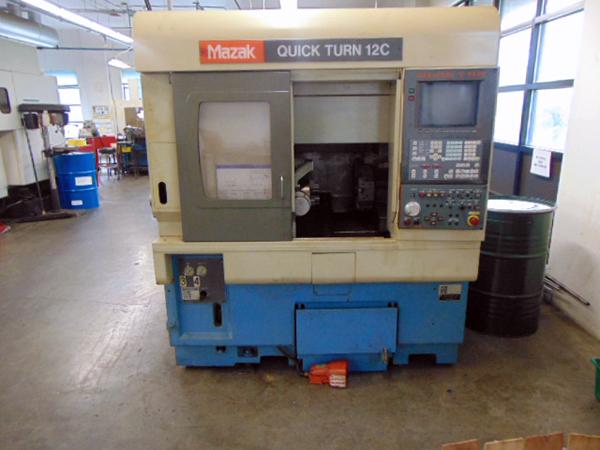 Used CNC Lathe Mazak QT-12C 1996