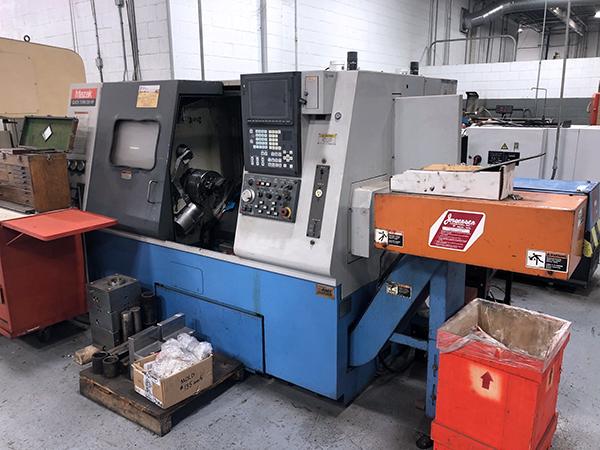 Used CNC Lathe Mazak QT-250-HP-UNIV 1998