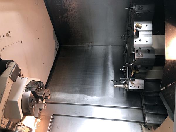 Used CNC Lathe Mazak QTN-200 10/2002
