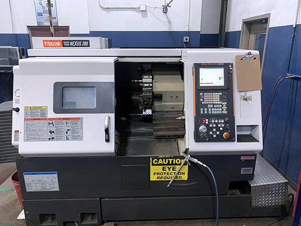 Used CNC Lathe Mazak QTN-200 2004