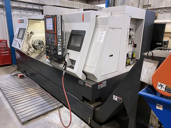 Used CNC Lathe Mazak QTN 350 II 2007