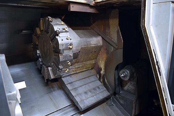 Used CNC Lathe Mazak QTN 400-II 2007