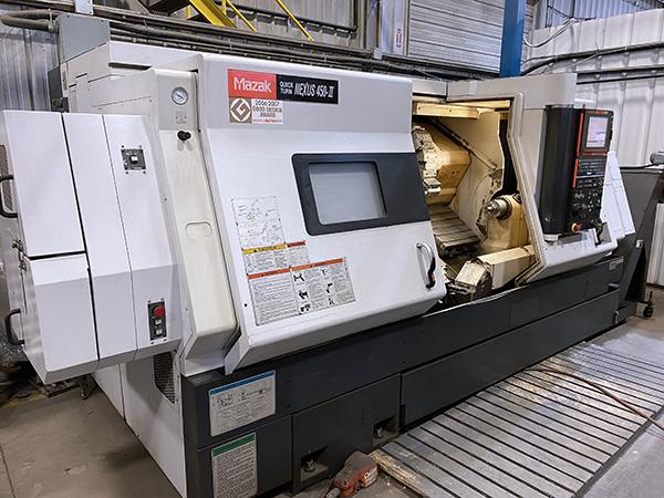 Used CNC Lathe Mazak QTN-450 II 2007
