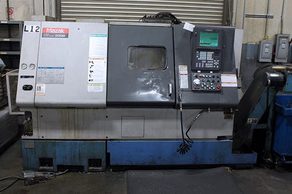 Used CNC Lathe Mazak SQT 200M 2000
