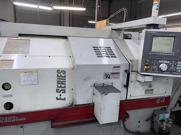 Used CNC Lathe Okuma ES-L8 2001