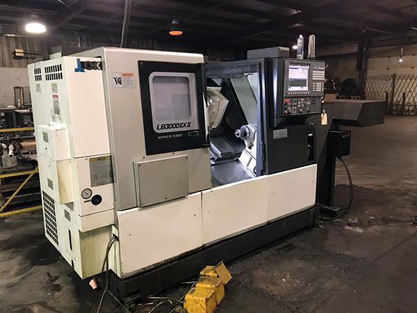 Used CNC Lathe Okuma LB-3000 EXII/500 2016