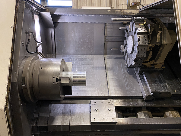Used CNC Lathe Okuma LB-35 II 2001