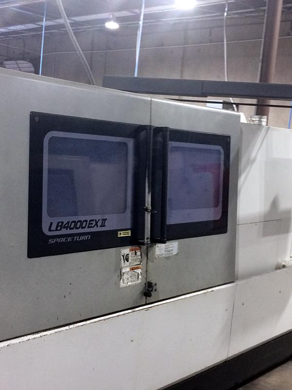 Used CNC Lathe Okuma LB4000EXII/C1500 2014