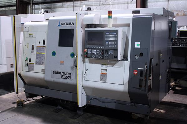 Used CNC Lathe Okuma LU-300-2SC600 2008