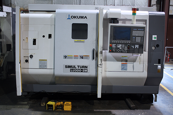 Used CNC Lathe Okuma LU-300 2MC600 2011