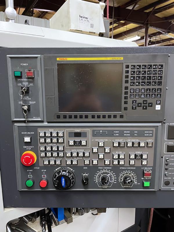 Used CNC Lathe Samsung SL1500M 2018