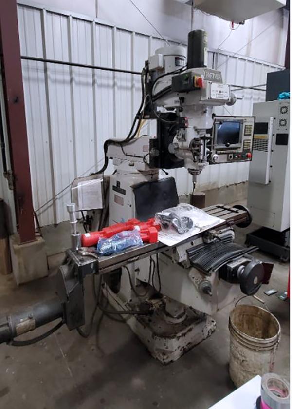 Used CNC Mill Milltronics Partner IV 1996