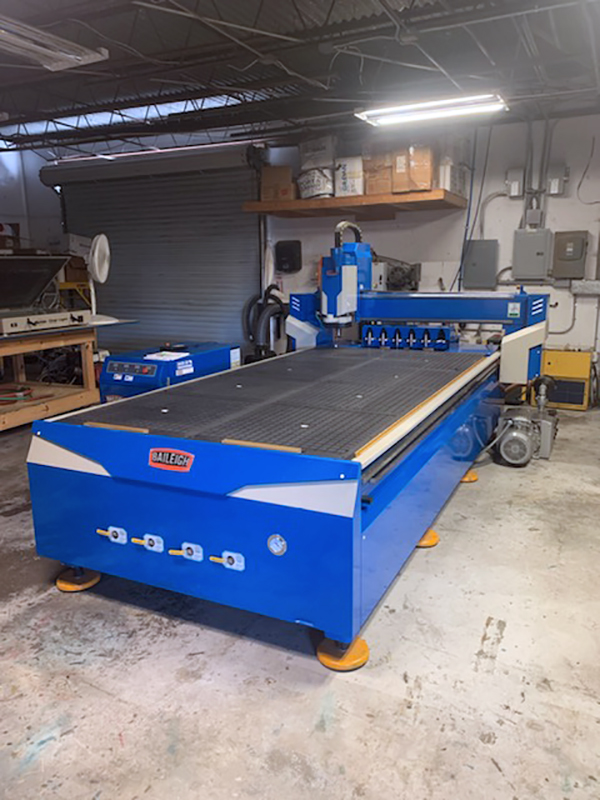 Used CNC Router Baileigh WR-105V-ATC 2017